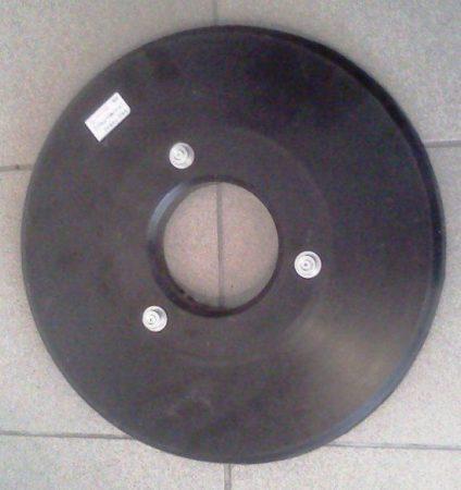 Pad tartó tárcsa Fiorentini vagy DEC 430mm-es padlótisztító gépekhez