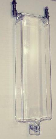 Érmefogadóhoz takaró ajtó, plexi