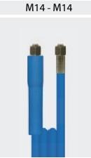 Nagynyomású kék tömlő, önkiszolgáló kézimosóhoz 2.