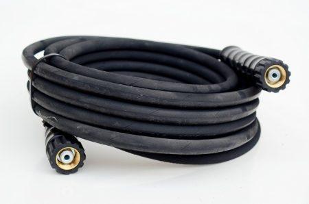 Nagynyomású fekete tömlő - 10 m-M22