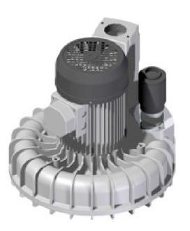 Porszívómotor aszinkron motorral, 3x400V