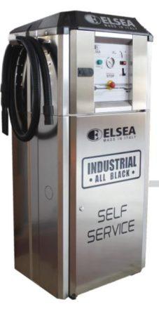 Elsea SST 22 önkiszolgáló porszívó , 3 fázisú turbinával
