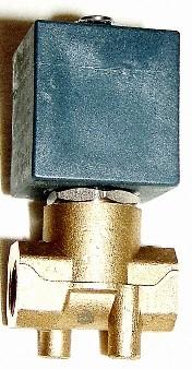 """Mágnesszelep, 1/4"""", 230VAC feszültség, direkt működésű, gőzre"""