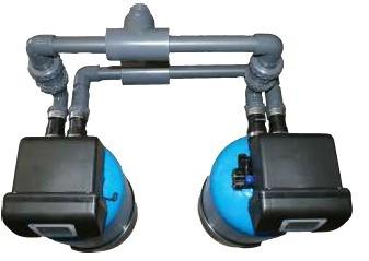 Bluesoft 120D1-Rx Ipari iker vízlágyító
