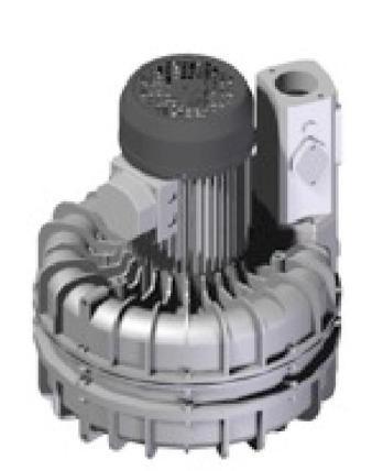 Porszívómotor aszinkron motorral, 3x400V, párhuzamos turbinákkal