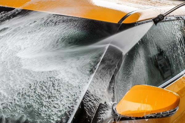meleg vizes nagynyomású mosó